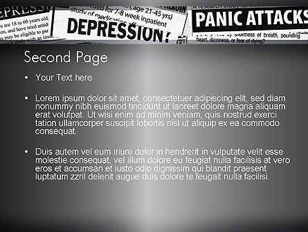 Mental Health PowerPoint Template, Slide 2, 11367, Medical — PoweredTemplate.com