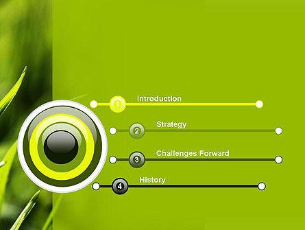 Green Grass Theme PowerPoint Template, Slide 3, 11368, Nature & Environment — PoweredTemplate.com