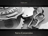 Legal: Strafrecht PowerPoint Template #11369