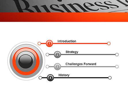 Breaking News PowerPoint Template, Slide 3, 11381, Careers/Industry — PoweredTemplate.com