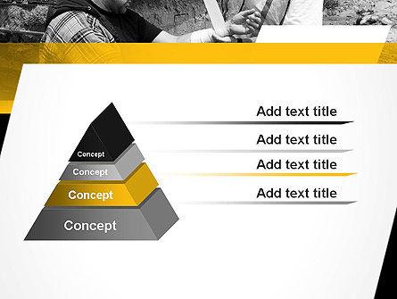 First Aid at Work PowerPoint Template, Slide 4, 11385, Medical — PoweredTemplate.com