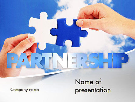 Business Concepts: Partnership Solutions PowerPoint Template #11386