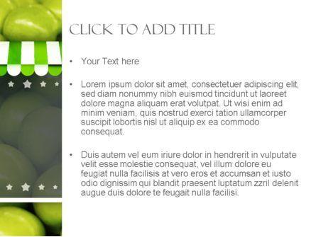 Apple Grocery PowerPoint Template, Slide 3, 11389, Careers/Industry — PoweredTemplate.com