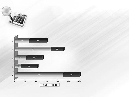 Gear Lever PowerPoint Template Slide 11