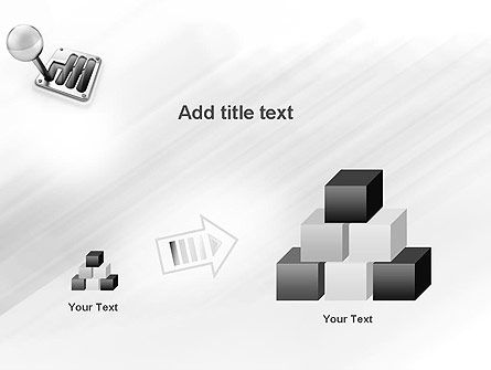 Gear Lever PowerPoint Template Slide 13