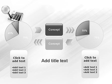Gear Lever PowerPoint Template Slide 16