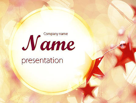 Festive Theme PowerPoint Template