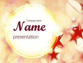Holiday/Special Occasion: Festive Theme PowerPoint Template #11394