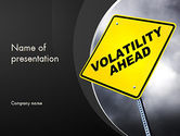 Financial/Accounting: Volatility PowerPoint Template #11395
