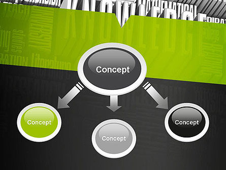 Components of Knowledge PowerPoint Template Slide 4