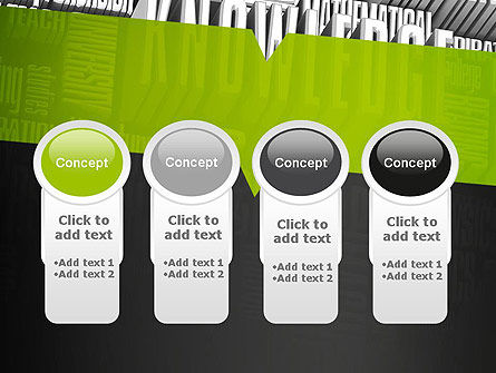 Components of Knowledge PowerPoint Template Slide 5