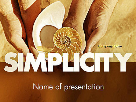 Nature Simplicity PowerPoint Template