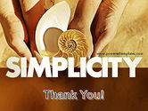 Nature Simplicity PowerPoint Template#20