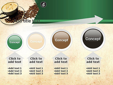 Mocha Coffee Flavor PowerPoint Template Slide 13