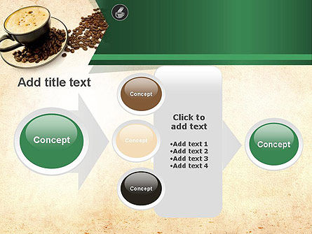 Mocha Coffee Flavor PowerPoint Template Slide 17