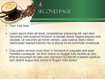 Mocha Coffee Flavor PowerPoint Template Slide 2