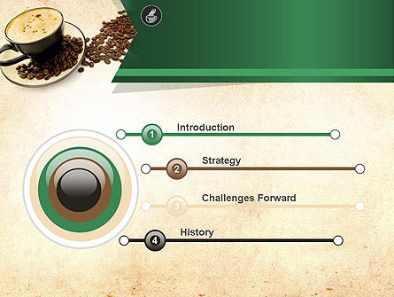 Mocha Coffee Flavor PowerPoint Template, Slide 3, 11398, Food & Beverage — PoweredTemplate.com