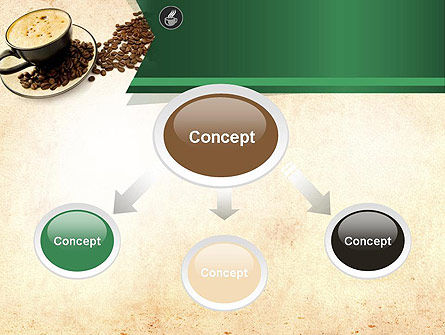 Mocha Coffee Flavor PowerPoint Template, Slide 4, 11398, Food & Beverage — PoweredTemplate.com