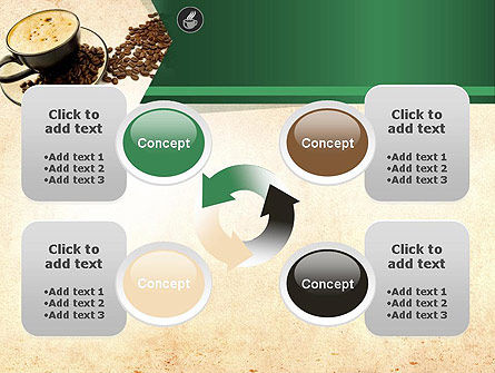 Mocha Coffee Flavor PowerPoint Template Slide 9