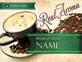 Food & Beverage: 파워포인트 템플릿 - 모카 커피 향기 #11398