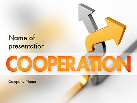 Business Concepts: Work Together PowerPoint Template #11400