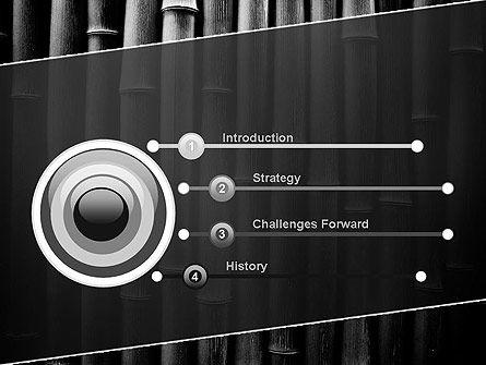 Black Bamboo PowerPoint Template, Slide 3, 11403, Nature & Environment — PoweredTemplate.com