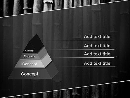 Black Bamboo PowerPoint Template, Slide 4, 11403, Nature & Environment — PoweredTemplate.com