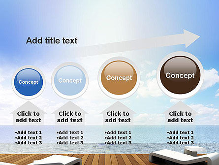 Wooden Terrace PowerPoint Template Slide 13