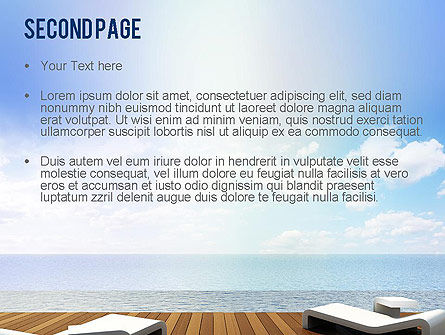 Wooden Terrace PowerPoint Template Slide 2