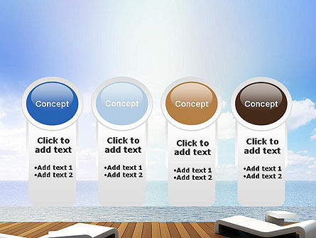 Wooden Terrace PowerPoint Template Slide 5