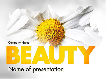 Nature & Environment: Beauty Theme PowerPoint Template #11410