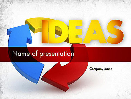 Business Concepts: Working Ideas PowerPoint Template #11411