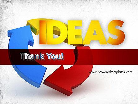 Working Ideas PowerPoint Template Slide 20