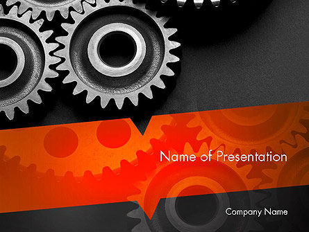 Working Wheels PowerPoint Template