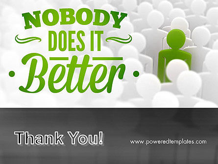 Nobody Does It Better PowerPoint Template Slide 20
