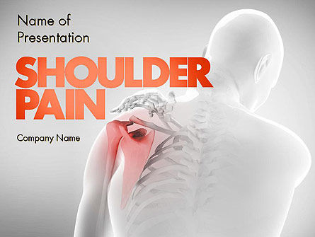 Medical: Shoulder Disorders PowerPoint Template #11418