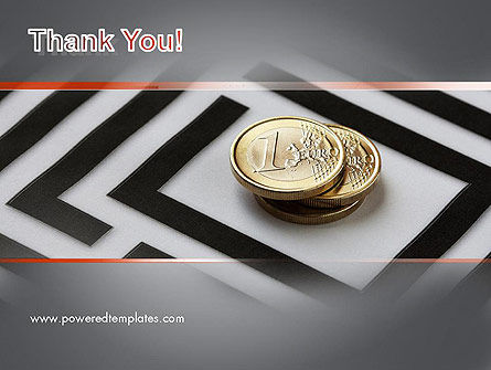Money in Maze PowerPoint Template Slide 20