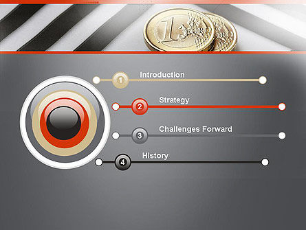 Money in Maze PowerPoint Template Slide 3