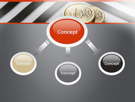 Money in Maze PowerPoint Template Slide 4