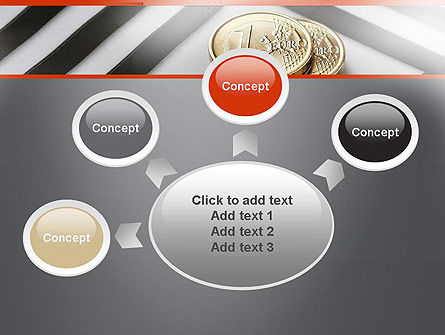 Money in Maze PowerPoint Template Slide 7