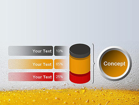 Beer Theme PowerPoint Template Slide 11