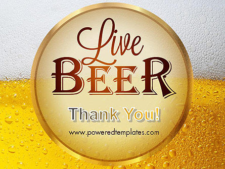 Beer Theme PowerPoint Template Slide 20