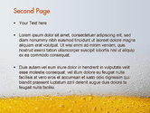 Beer Theme PowerPoint Template#2