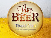 Beer Theme PowerPoint Template#20