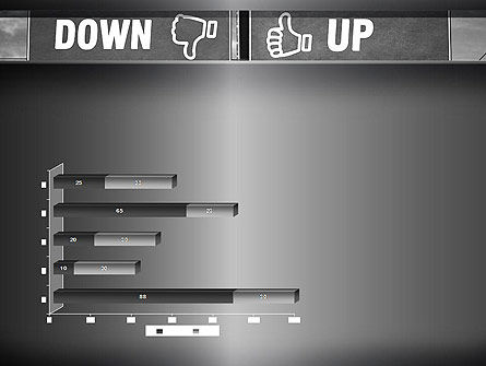 Up and Down Highway Signs PowerPoint Template Slide 11
