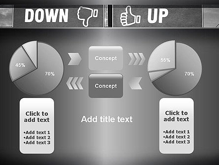 Up and Down Highway Signs PowerPoint Template Slide 16
