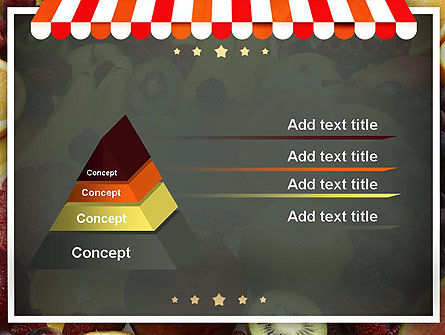 Grocery Store PowerPoint Template, Slide 4, 11424, Careers/Industry — PoweredTemplate.com