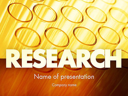 Test Tubes PowerPoint Template, 11425, Technology and Science — PoweredTemplate.com