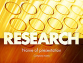Technology and Science: Test Tubes PowerPoint Template #11425