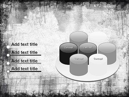 Black China Ink Frame PowerPoint Template Slide 12